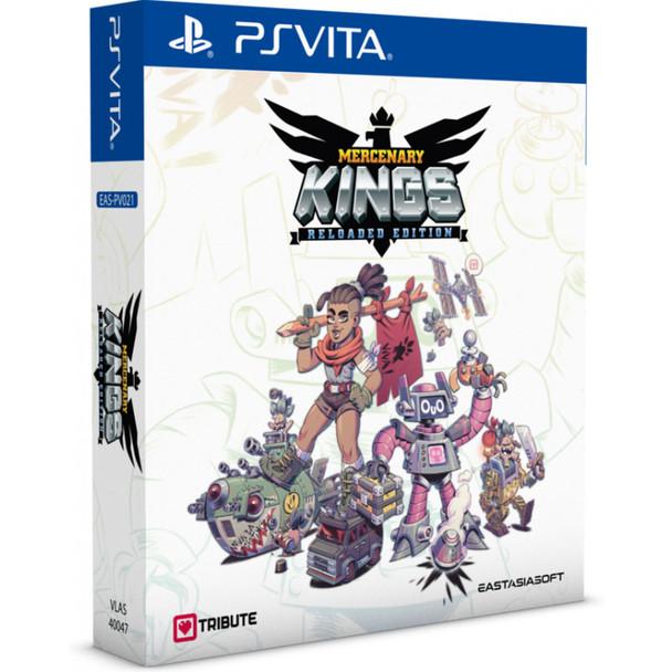 Mercenary Kings: Reloaded Edition [Limited Edition] (PlayStation Vita)