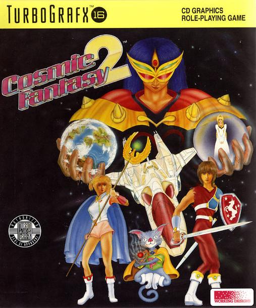 Cosmic Fantasy 2 (turbo grafx 16 cd-rom)