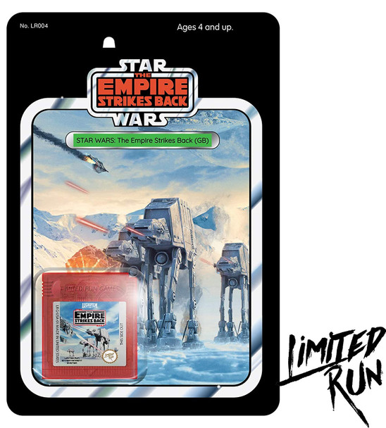 Star Wars: The Empire Strikes Back (Gameboy) LImited Run