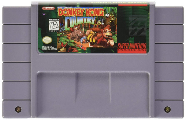 Donkey Kong Country USED (SNES)
