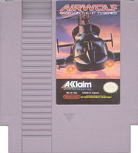 Airwolf USED (NES)