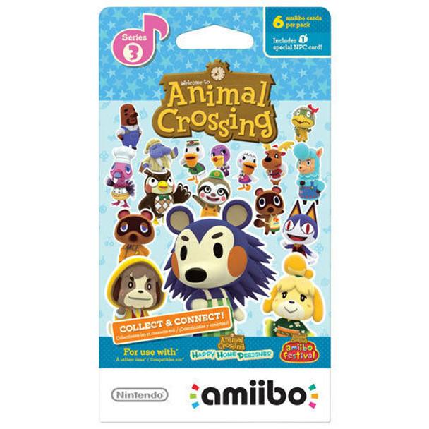 Animal Crossing Amiibo Cards Series 3