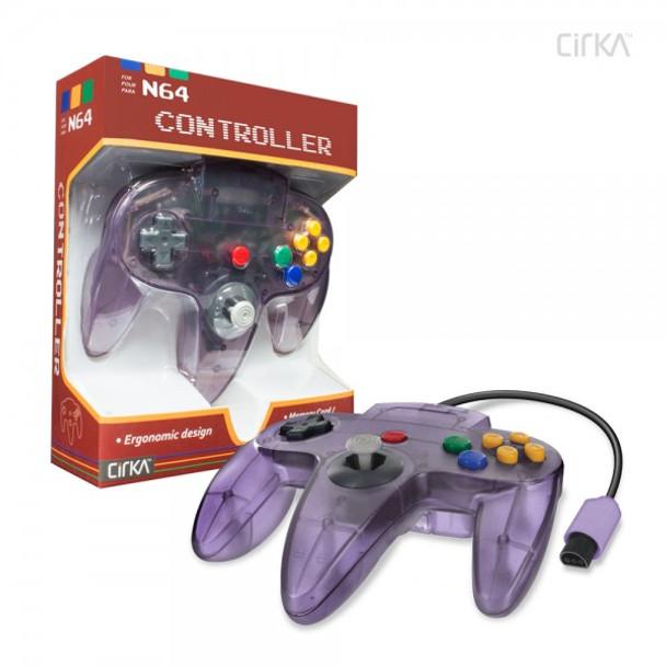 CirKa N64 Controller - Atomic Purple (Nintendo 64)