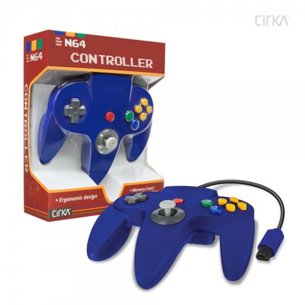CirKa N64 Controller - Blue (Nintendo 64)