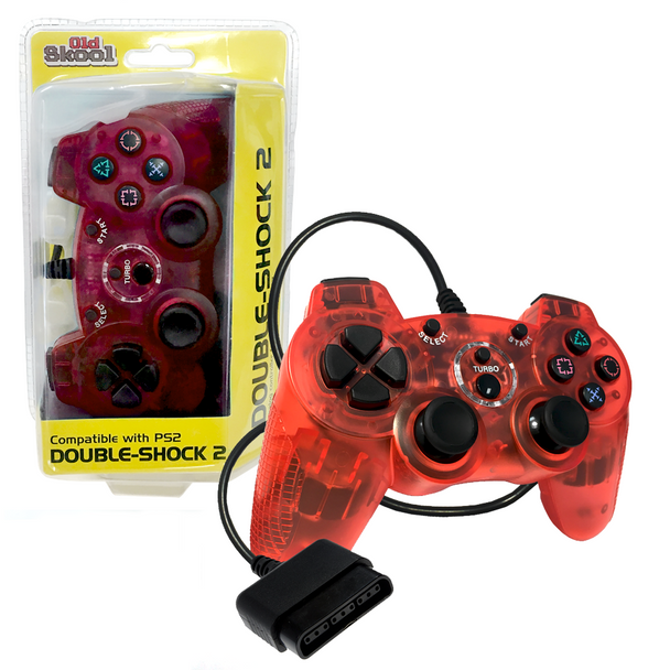 PlayStation 2 Double-Shock 2 Controller - Red (PlayStation 2)