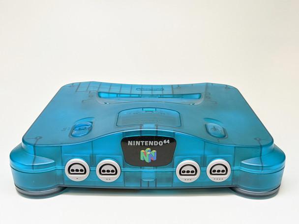 Nintendo 64 System - Clear Blue (USA)