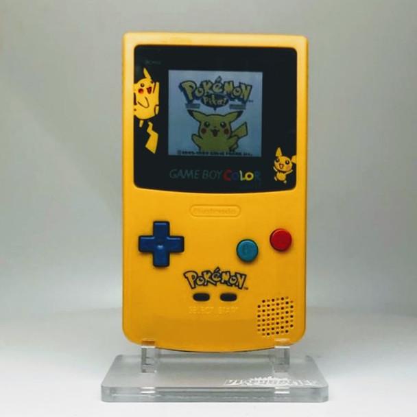 Nintendo GameBoy Color System w/ TFT LCD (CUSTOM) Pikachu