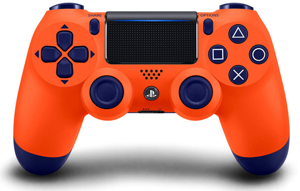 DualShock 4 Wireless Controller - Sunset Orange (PlayStation 4)
