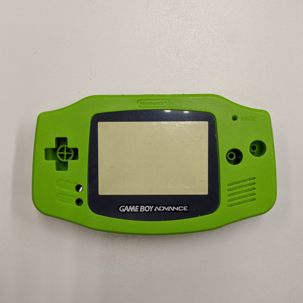 GBA Replacement Shell - IPS PRECUT - Lime Green