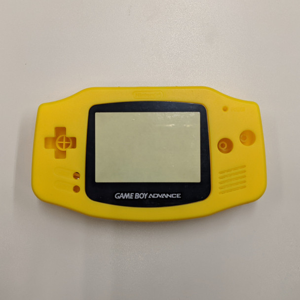 GBA Replacement Shell - IPS PRECUT - Yellow
