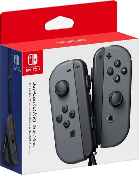 Joy-Con Wireless Controllers - Gray/Gray (Nintendo Switch)
