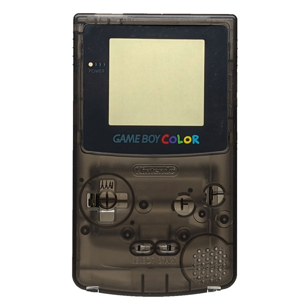 GameBoy Color Replacement Shell - Clear Smoke (GBC)