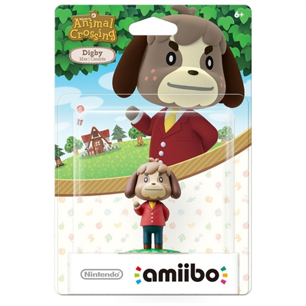 Digby (Animal Crossing) Amiibo  - Japan Import