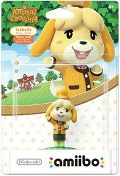 Isabelle - Winter (Animal Crossing) Amiibo  - Japan Import