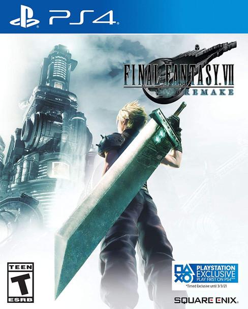 Final Fantasy VII: Remake [PlayStation 4]