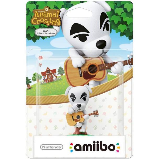 K.K (Animal Crossing) Amiibo  - Japan Import
