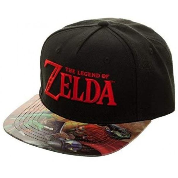 The Legend of Zelda Printed Bill Snapback