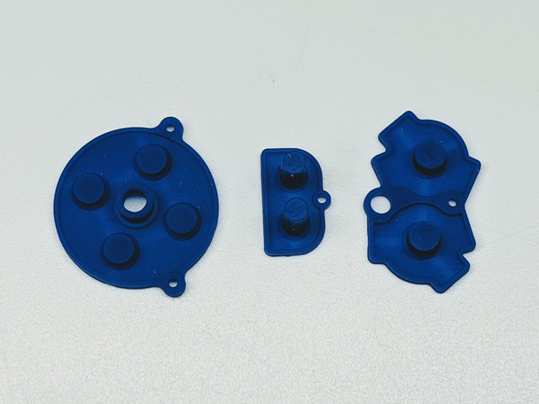 Gameboy Advance - Silicon Pad Set -  BLUE (GBA)