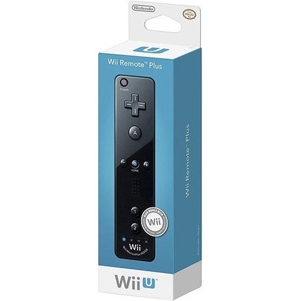 Nintendo Wii Remote Plus - BLACK