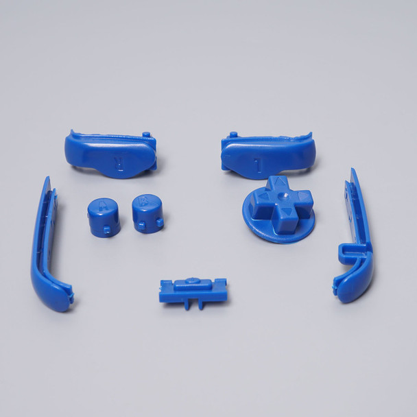 Gameboy Advance - Button & Bumper Set - BLUE (GBA)