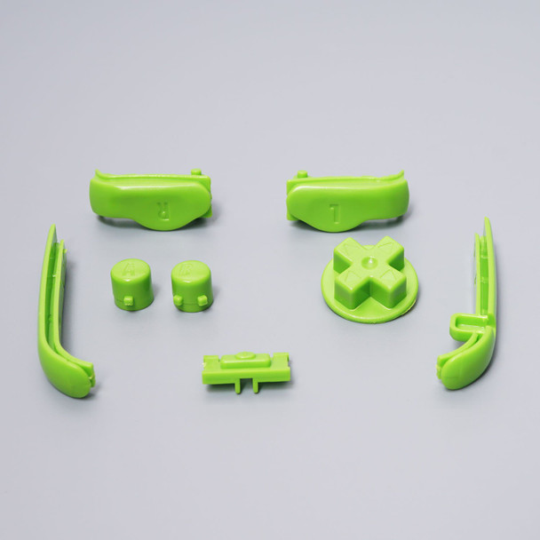 Gameboy Advance - Button & Bumper Set - GREEN (GBA)