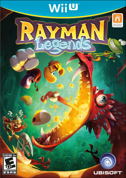 Rayman Legends (Nintendo Wii U)