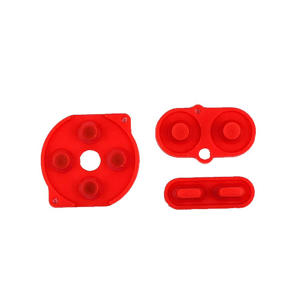 Gameboy Color - Silicon Pad Set - RED (GBC)