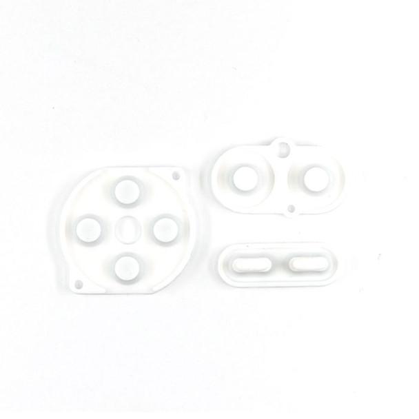 Gameboy Color - Silicon Pad Set -  WHITE (GBC)