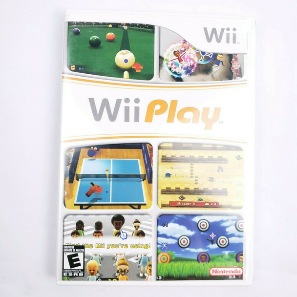 Wii Play (Nintendo Wii) USED