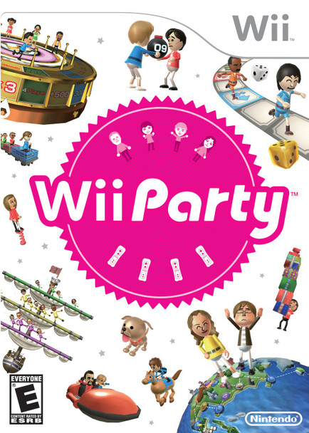 Wii Party (Nintendo Wii) USED