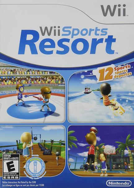Wii Sports Resort (Nintendo Wii) USED