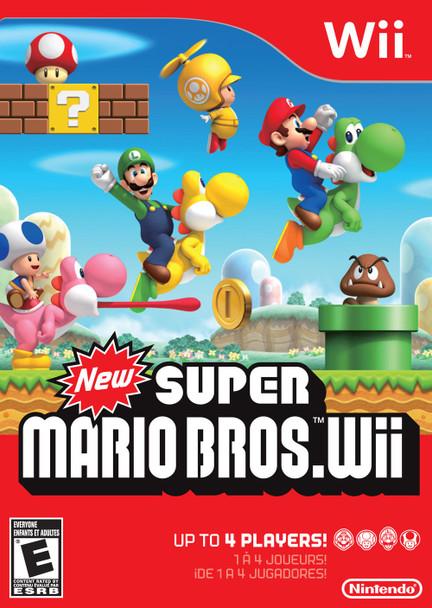 New Super Mario Bros. Wii (Nintendo Wii) USED