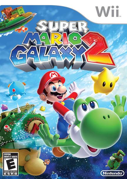 Super Mario Galaxy 2 (Nintendo Wii) USED