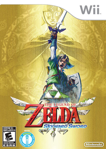 The Legend of Zelda: Skyward Sword (Nintendo Wii) USED