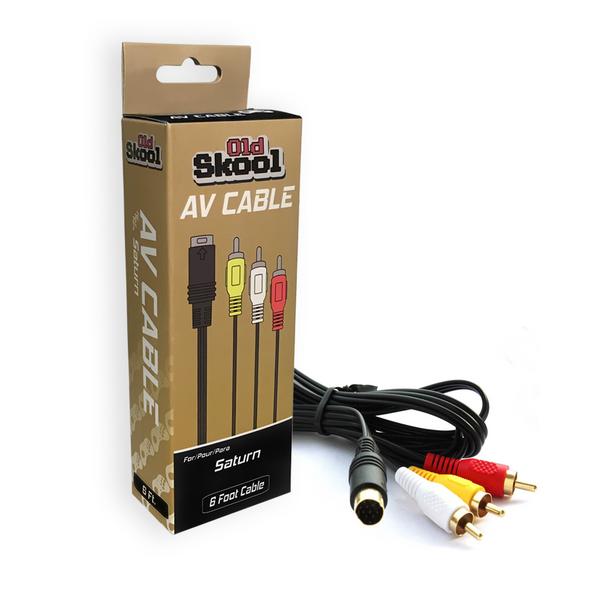 Sega Saturn AV Video Cable (Saturn)
