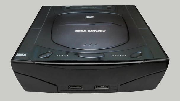 Sega Saturn System - MODEL 1 - BLACK (Sega Saturn) USA
