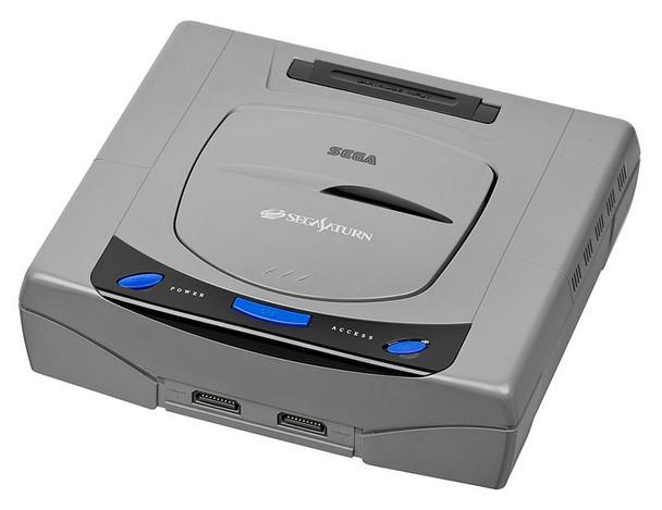 Sega Saturn System - MODEL 1 - GREY (Sega Saturn) JAPAN
