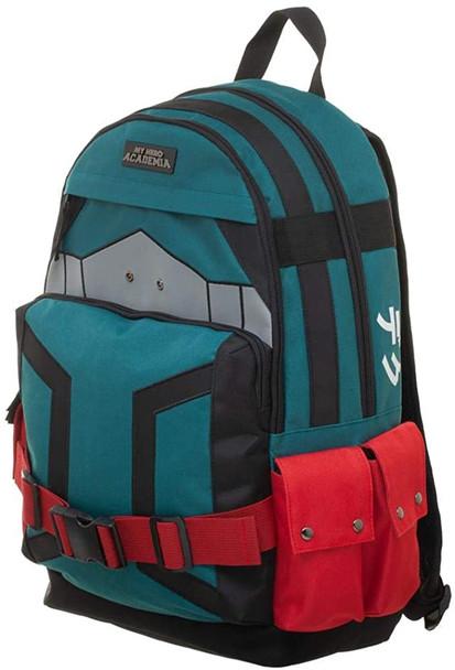 My Hero Academia - Deku Themed Backpack