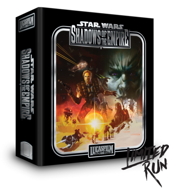 Star Wars: Shadows of the Empire (N64) Premium Edition - Limited Run