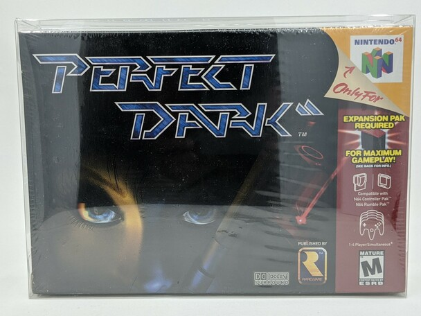 Perfect Dark (Nintendo 64) - Brand New Factory Sealed