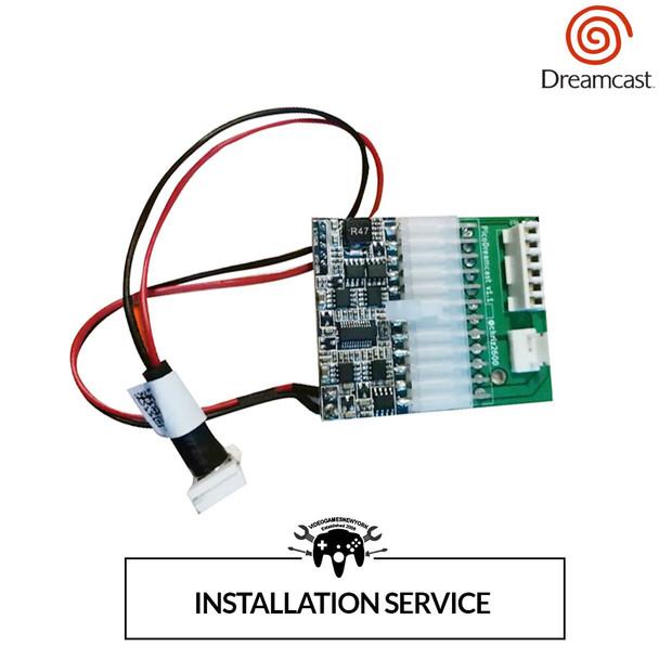 PICO PSU Power Supply Installation Service (Dreamcast) [SERVICE]