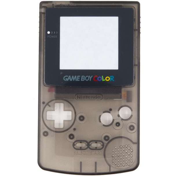 GameBoy Color Replacement Shell - PRECUT - Clear Smoke (GBC)