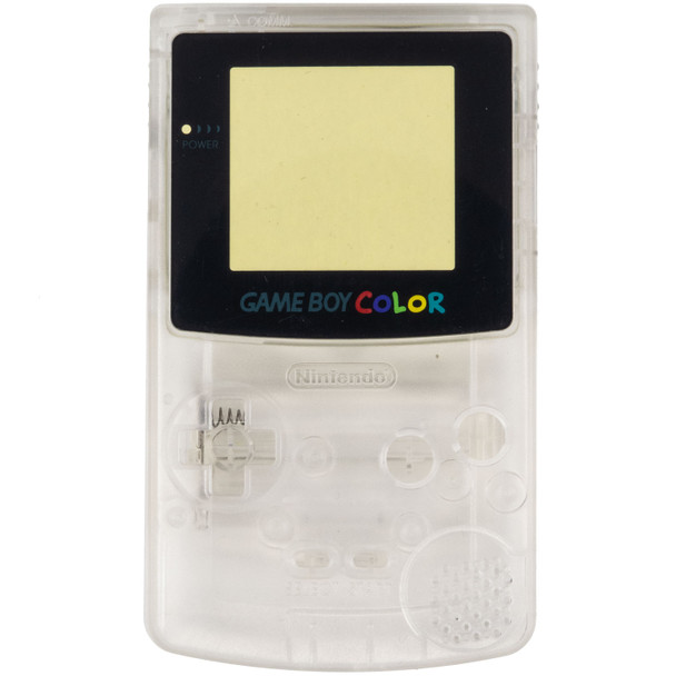 GameBoy Color Replacement Shell - PRECUT - Clear (GBC)