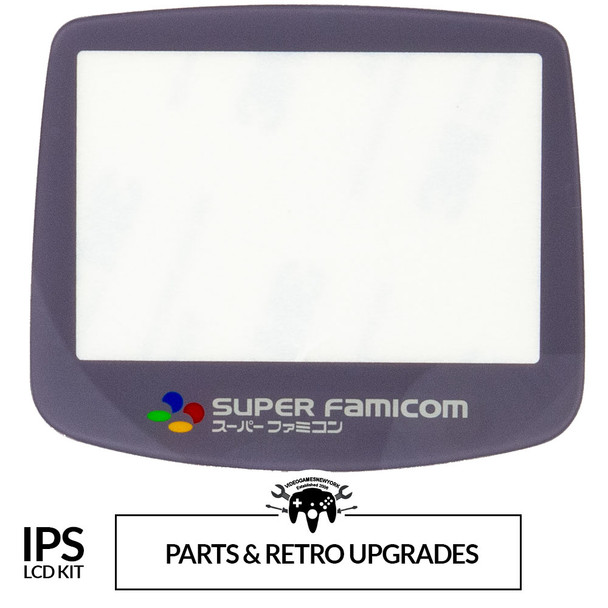 GameBoy Advance IPS GLASS LENS - SFC (GBA)