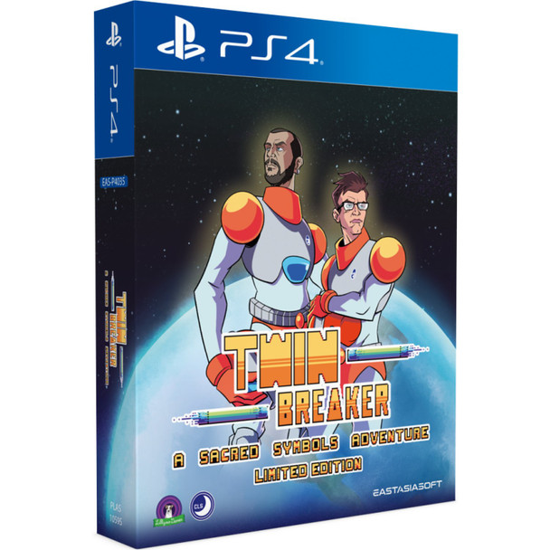 Twin Breaker: A Sacred Symbols Adventure Limited Edition - EastAsiaSoft (PlayStation 4)