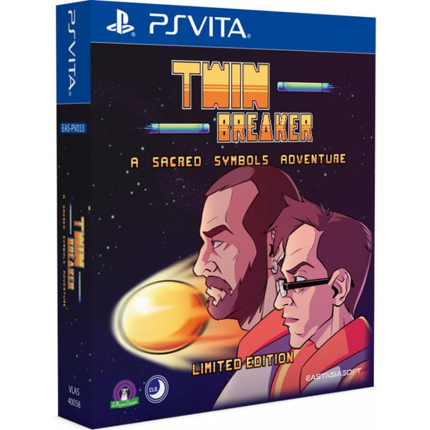 Twin Breaker: A Sacred Symbols Adventure Limited Edition - EastAsiaSoft (PlayStation Vita)