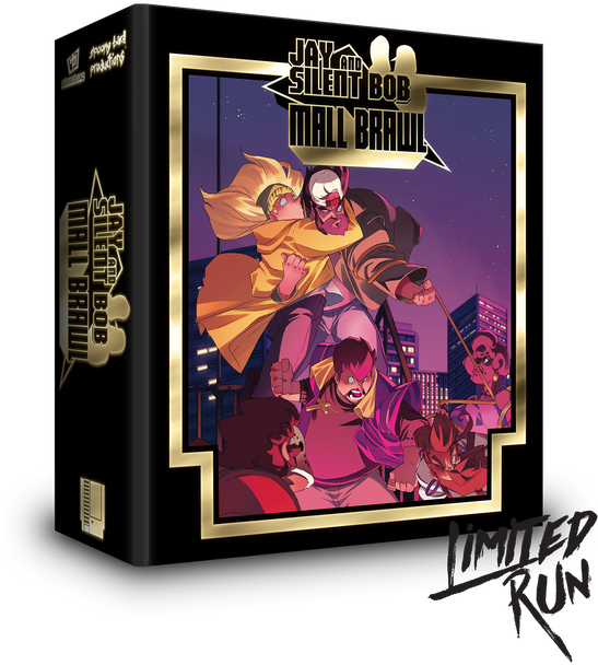 Jay and Silent Bob Mall Brawl Premium Edition - Limited Run Games (Nintendo NES)