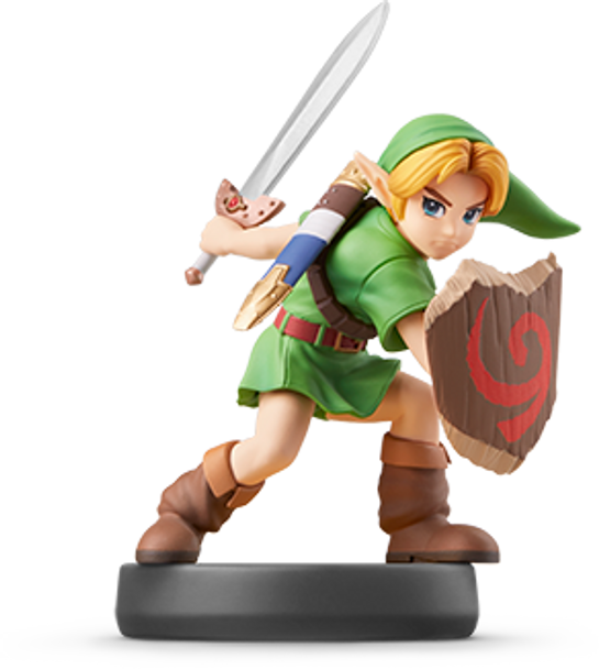 Young Link Amiibo  - Japan Import