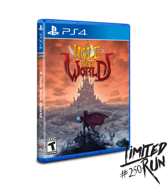 A Hole New World - Limited Run (Playstation 4)