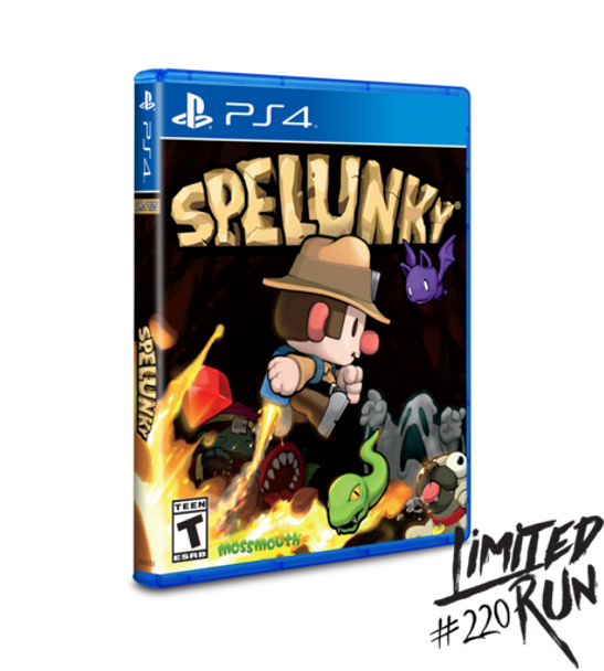 Spelunky - Limited Run (Playstation 4)